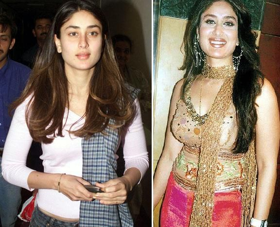 Karina Kapoor Without Makeup - Old Pictures Of Famous -1047