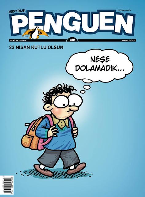 Pengeun Dergisi - 23 Nisan 2016 Kapak Karikatürü