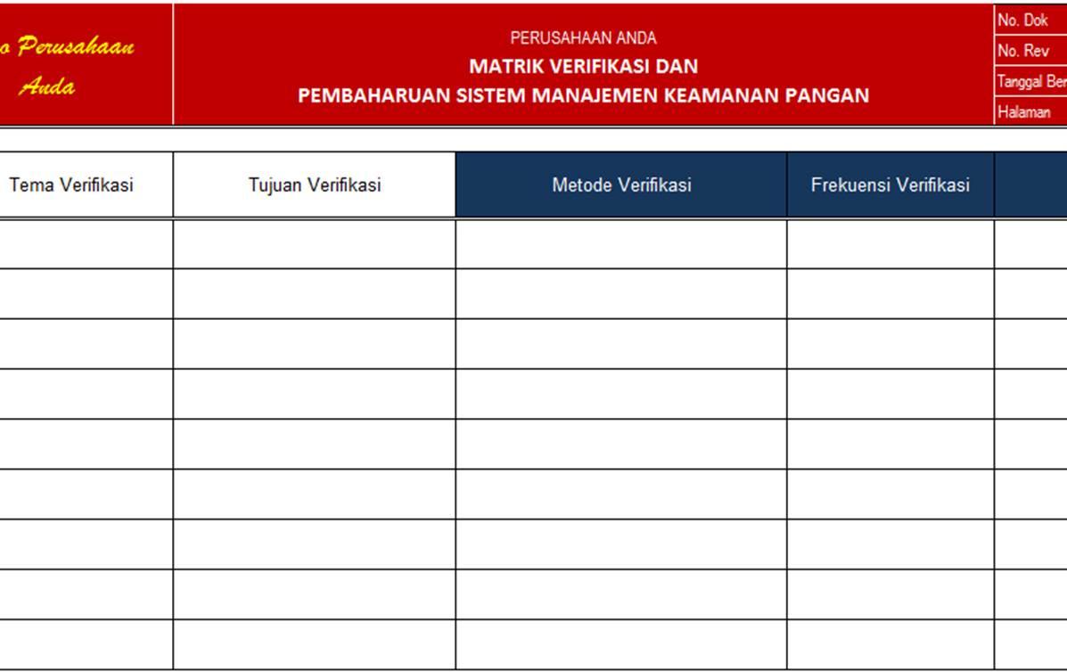 Pt Sistem Manajemen Utama Paket Lengkap Dokumen Iso 22000 2005 Sistem Manajemen Keamanan Pangan