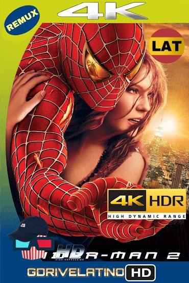 El Hombre Araña 2 (2004) BDRemux 4K HDR Lat-Cas-Ing MKV