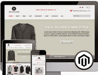 MenStyle Shop - Online Store Responsive Blogger Template