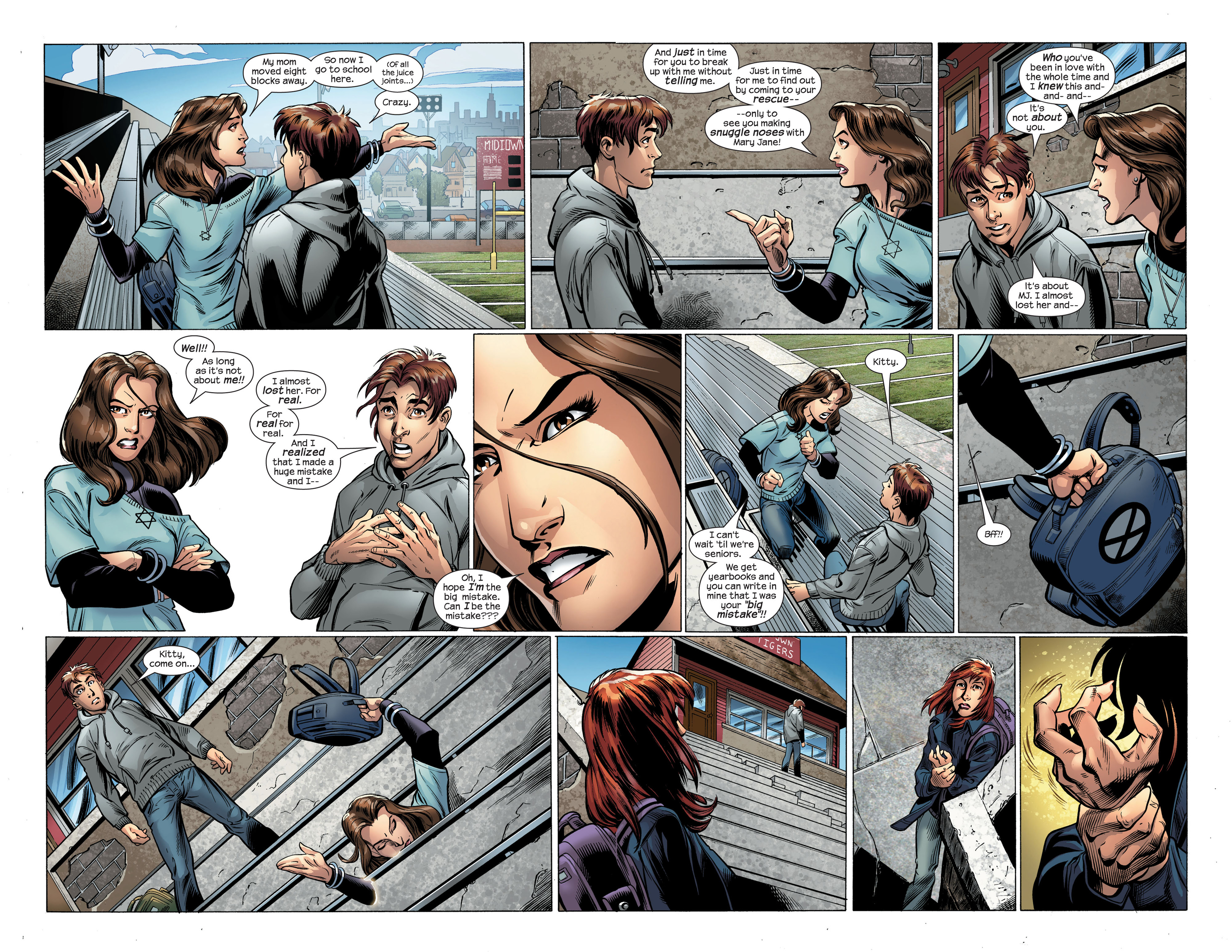 Read online Ultimate Spider-Man (2000) comic -  Issue #107 - 10