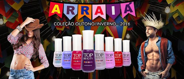 Top Beauty lança sua nova coleção Arraiá