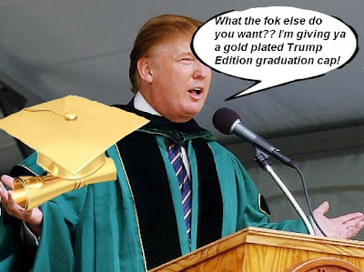 A SCHOOL AND HIS MONEY ARE SOON DEPARTED - TRUMP UNIVERSITY