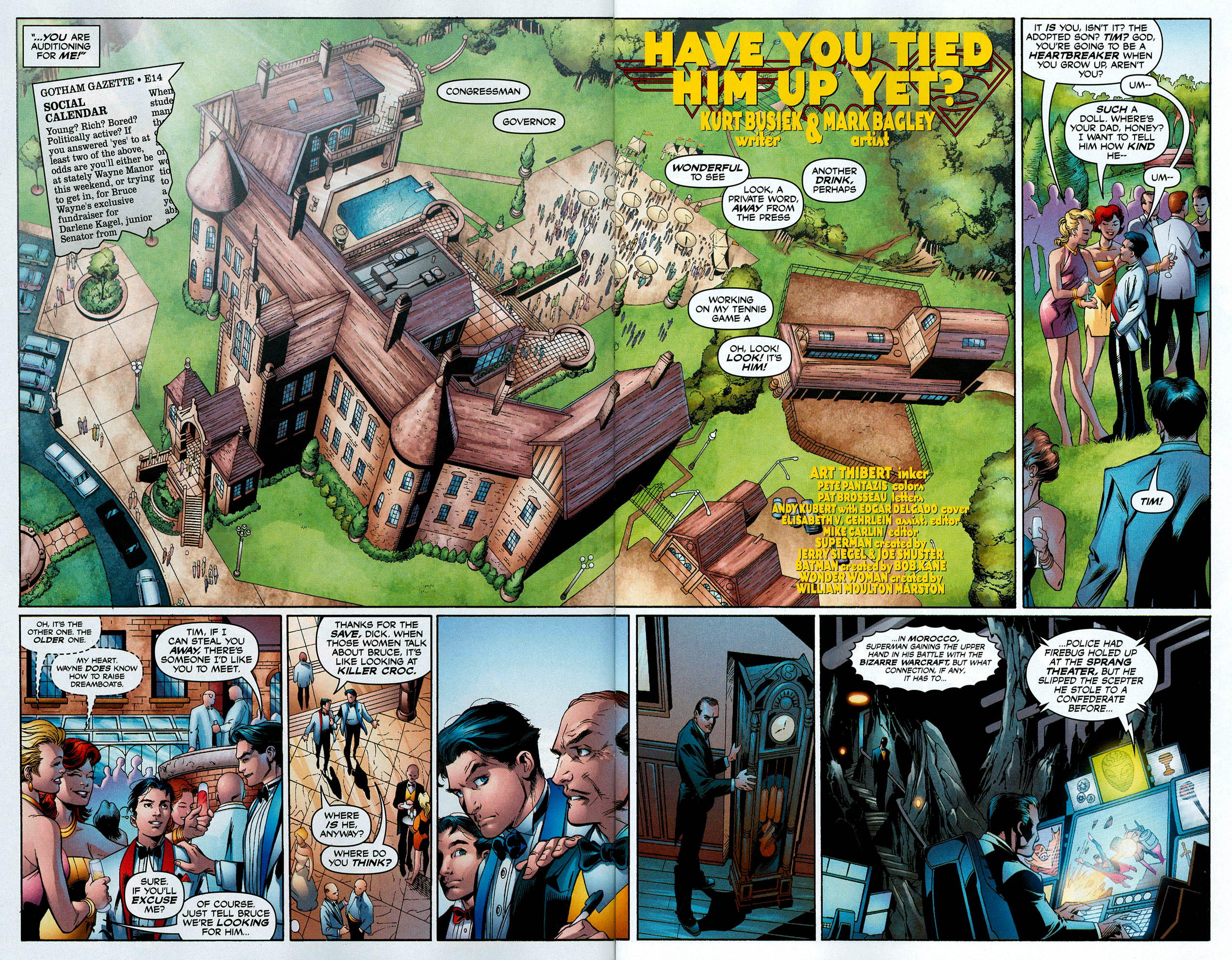 Read online Trinity (2008) comic -  Issue #8 - 6