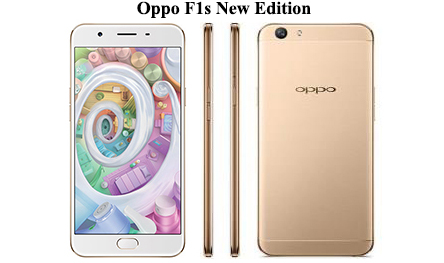 edisi terbaru kini hadir dengan beragam fitur dan spek yang sangat memukau Spesifikasi dan Harga OPPO F1s New Edition, RAM 3GB / 64GB Android Super Selfie