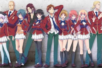 15 Anime Mirip Classroom of The Elite