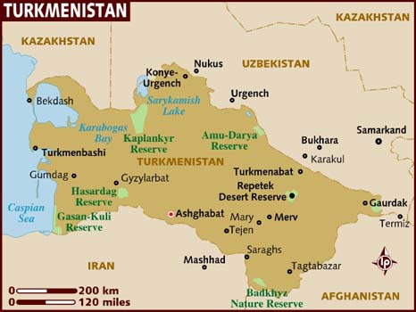 Turkmenistan Facts In Hindi