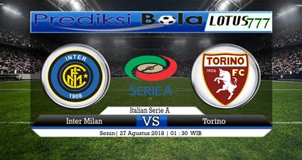 Prediksi Skor Inter Milan VS Torino 27 Agustus 2018