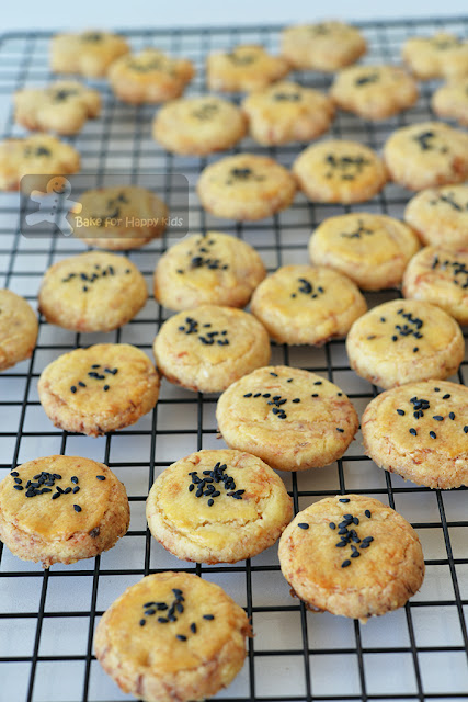 chinese new year pork floss melt in mouth cookies