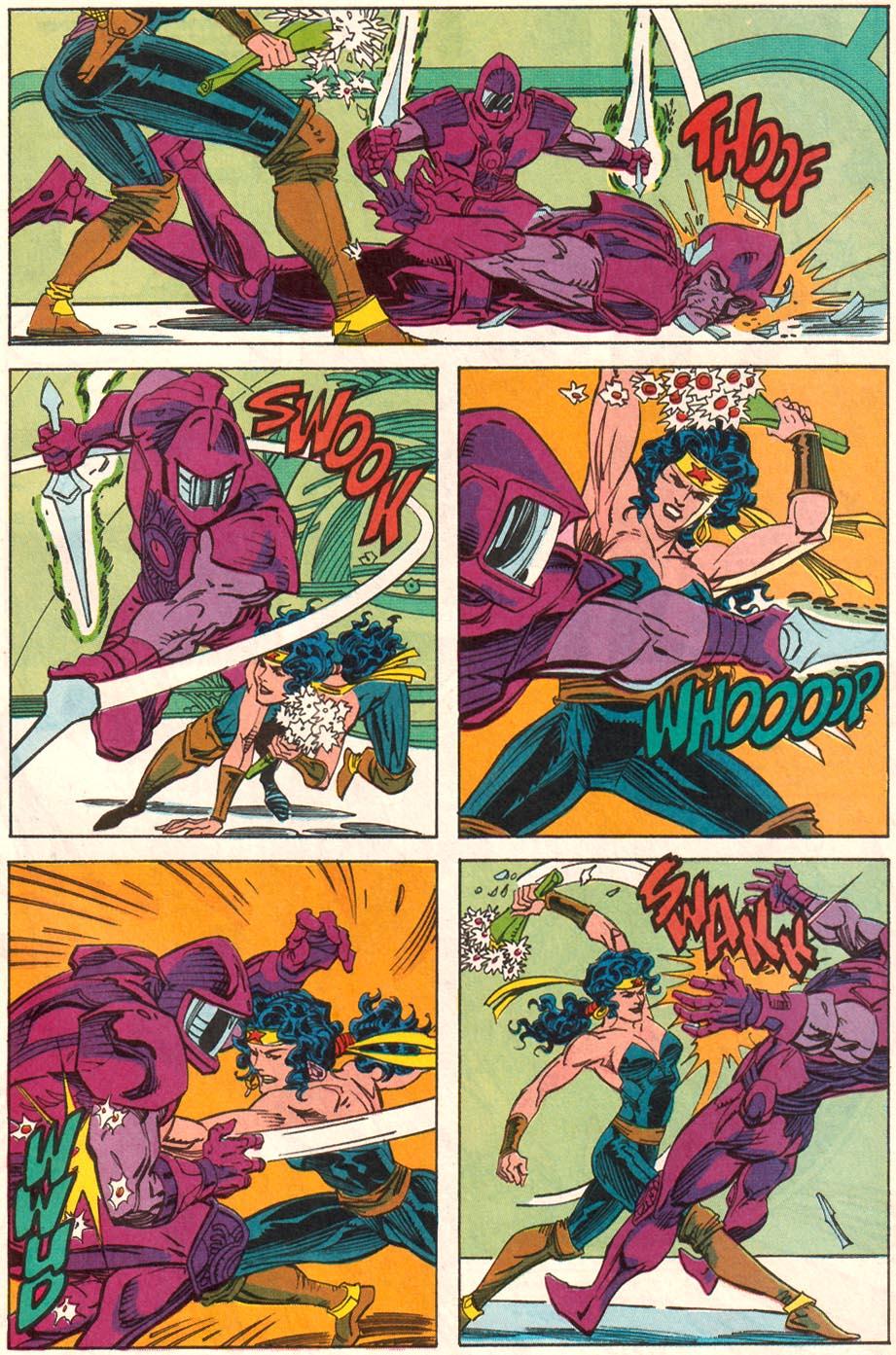 Read online Wonder Woman (1987) comic -  Issue #70 - 16