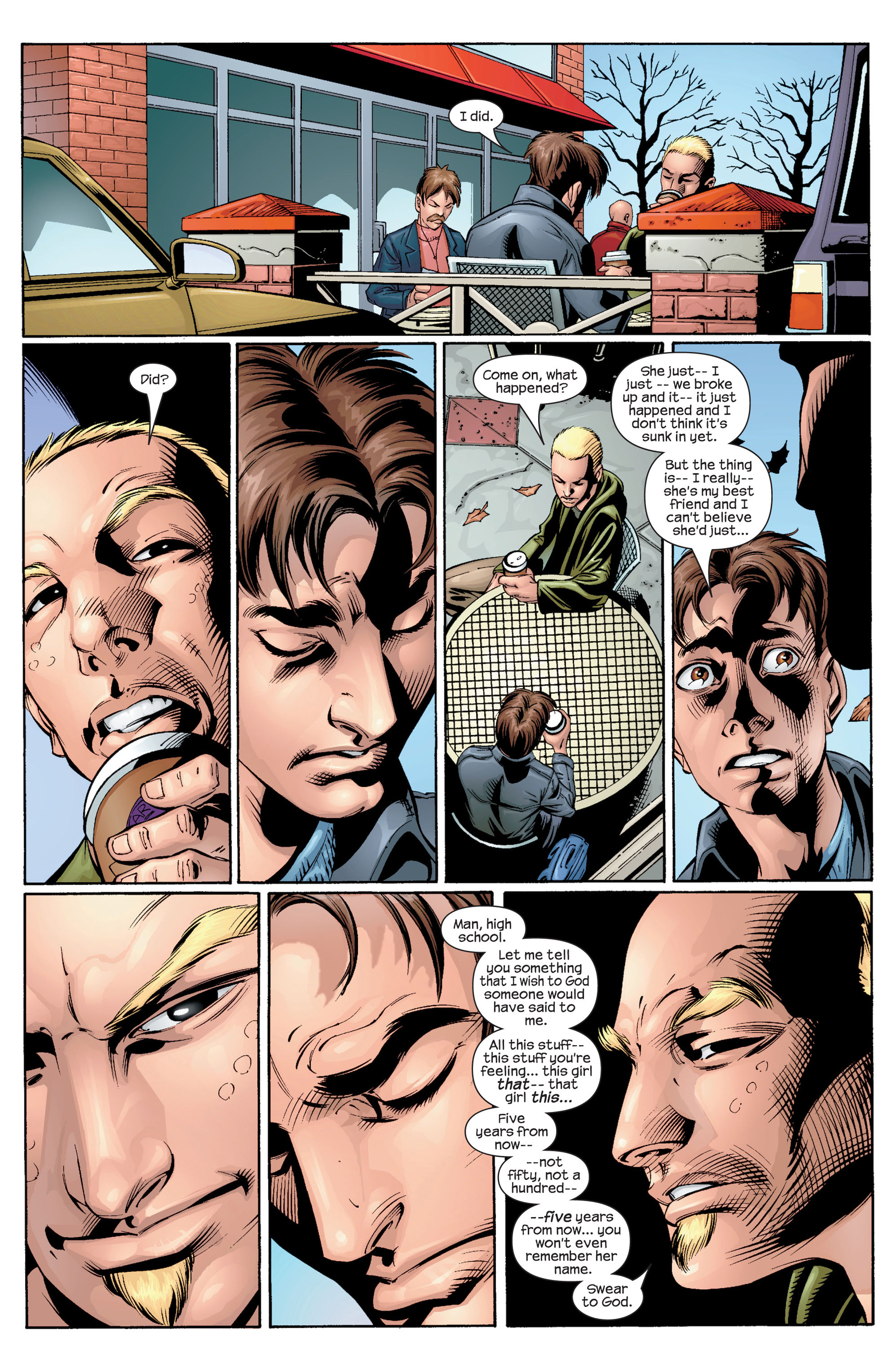 Read online Ultimate Spider-Man (2000) comic -  Issue #33 - 19