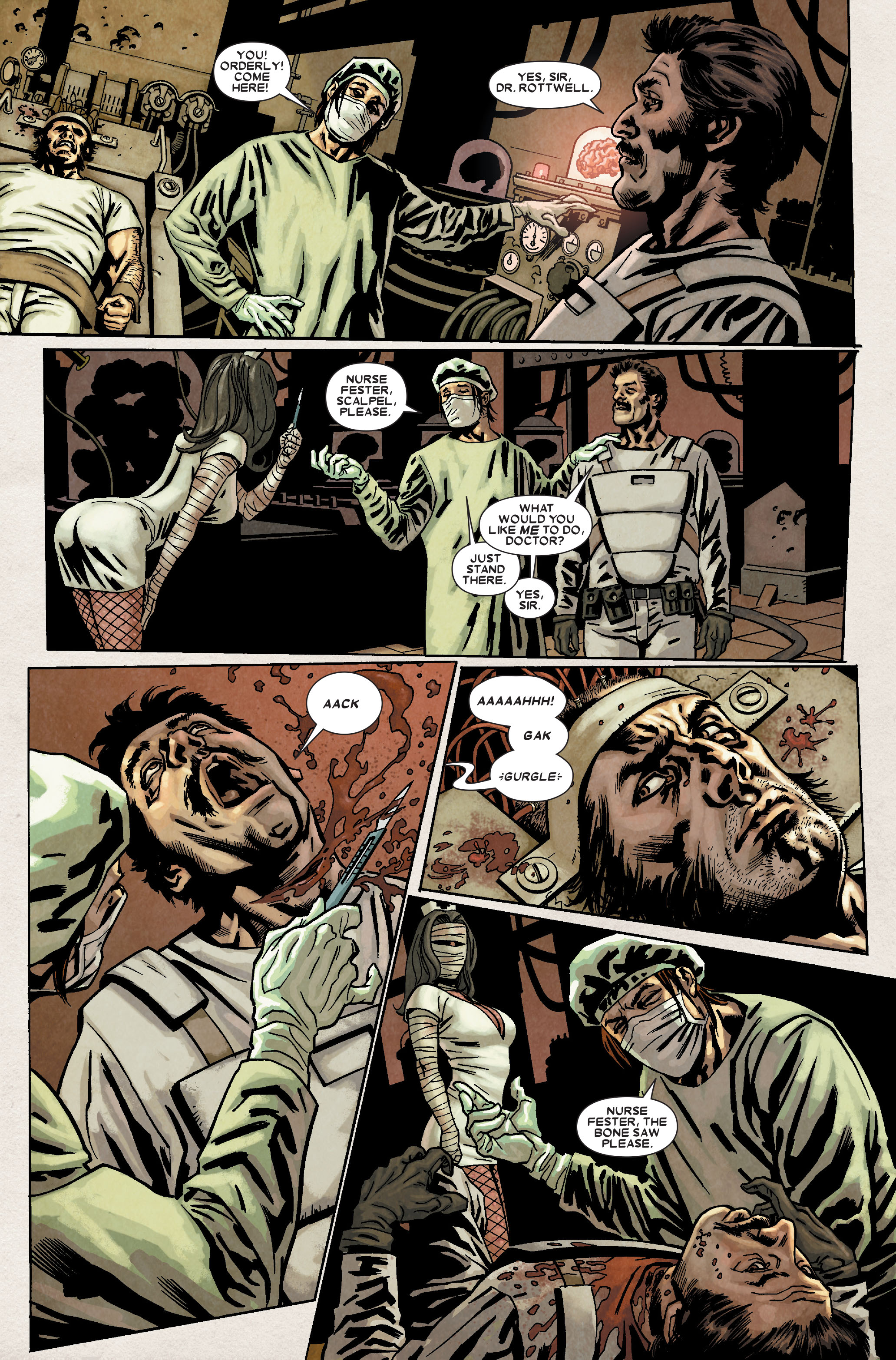 Read online Wolverine: Weapon X comic -  Issue #8 - 20