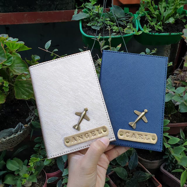 Personalized Passport Holder _ Hola Crafts - Philippines
