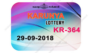 KeralaLotteryResult.net, kerala lottery kl result, yesterday lottery results, lotteries results, keralalotteries, kerala lottery, keralalotteryresult, kerala lottery result, kerala lottery result live, kerala lottery today, kerala lottery result today, kerala lottery results today, today kerala lottery result, karunya lottery results, kerala lottery result today karunya, karunya lottery result, kerala lottery result karunya today, kerala lottery karunya today result, karunya kerala lottery result, live karunya lottery KR-364, kerala lottery result 29.9.2018 karunya KR 364 29 september 2018 result, 29 09 2018, kerala lottery result 29-09-2018, karunya lottery KR 364 results 29-9-2018, 29/8/2018 kerala lottery today result karunya, 29/09/2018 karunya lottery KR-364, karunya 29.9.2018, 29.9.2018 lottery results, kerala lottery result September 29 2018, kerala lottery results 29th September 2018, 29.09.2018 friday KR-364 lottery