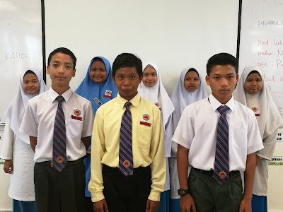 Kumpulan murid dengan gaya pembelajaran secara Visual