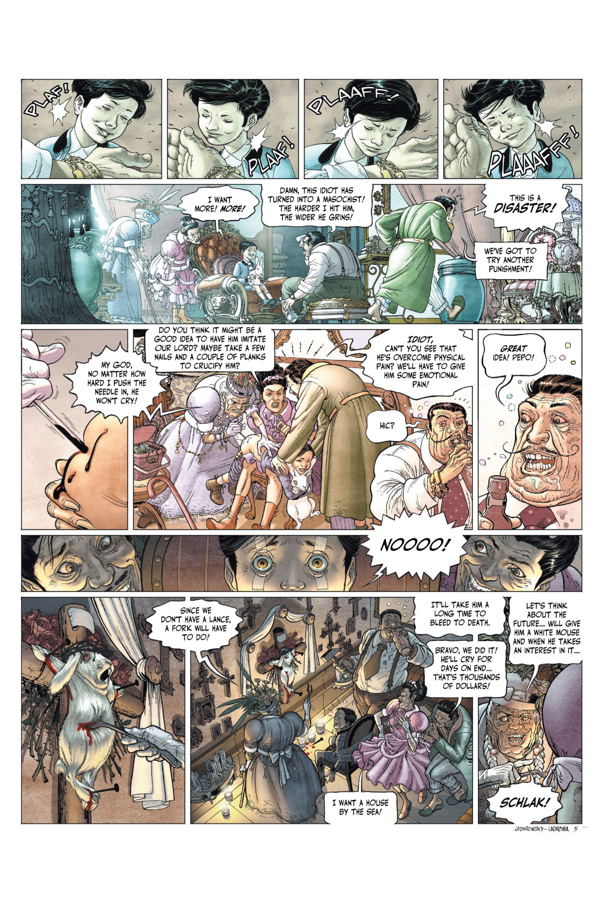 Read online Alejandro Jodorowsky's Screaming Planet comic -  Issue #2 - 66