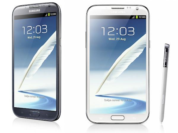 Best SmartPhones 2012: Samsung Galaxy Note 2