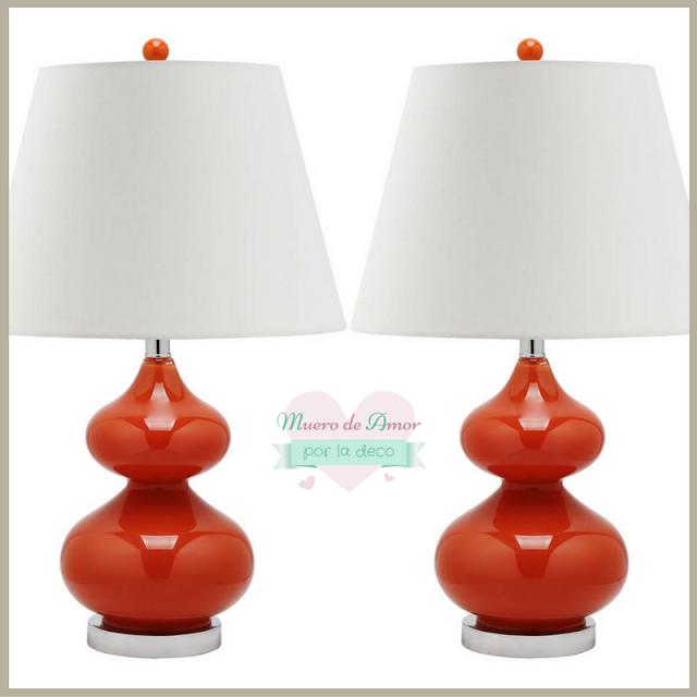 Lámparas con mucho glamour de colores