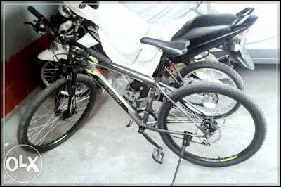 Harga Jual Sepeda Gunung Polygon Monarch 3 Grey