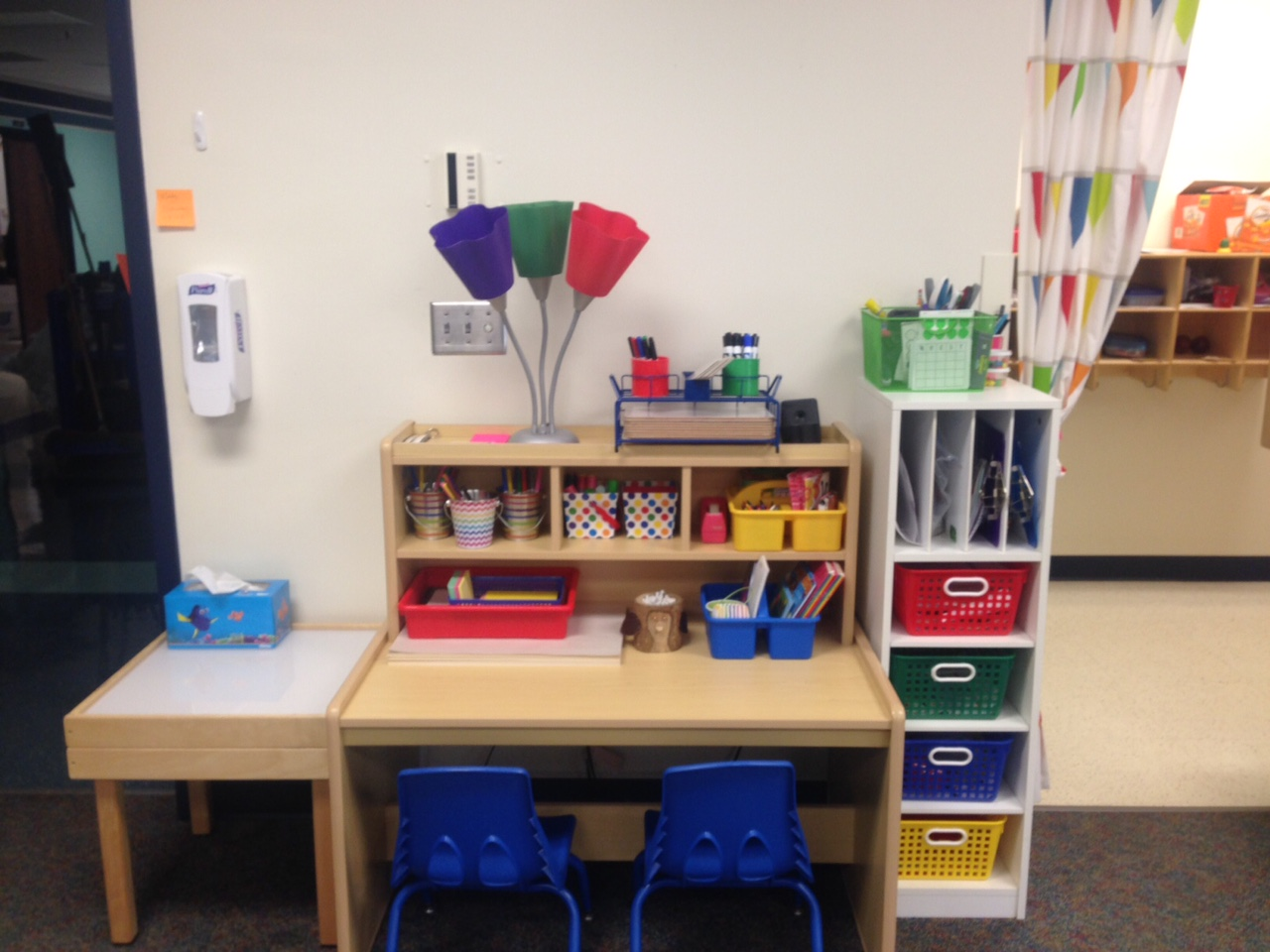Classroom Writing Ideas ~ Preschool wonders the writing center hop