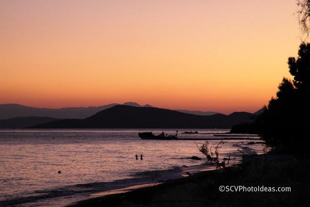 Seascape sunset 2 5' later
