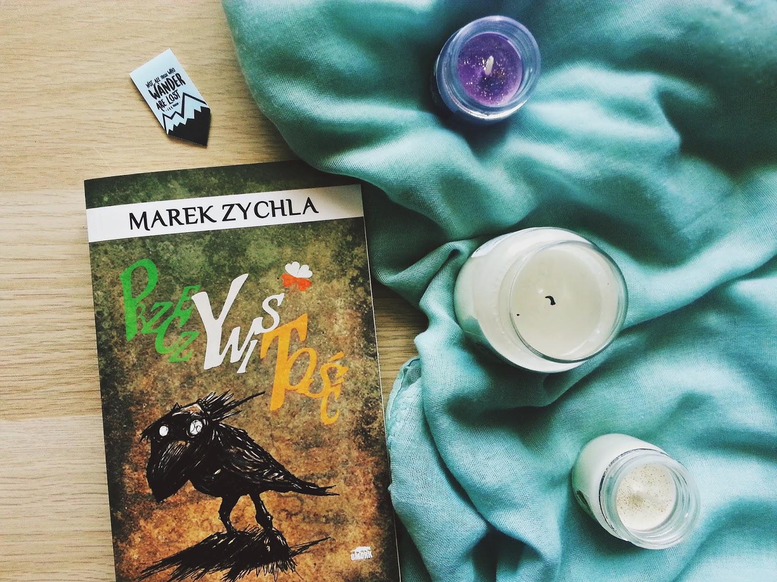 Przeczywistość, Marek Zychla, Wydawnictwo GMORK, recenzja, książka, horror