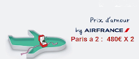 Offre DUO AIR FRANCE
