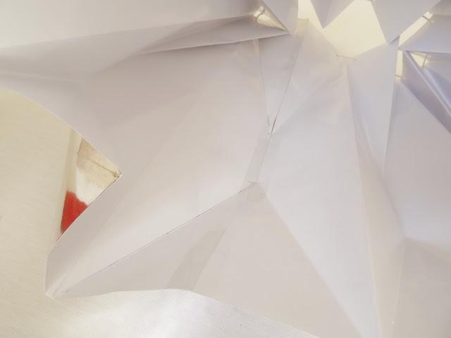 DIY folding paper lamp