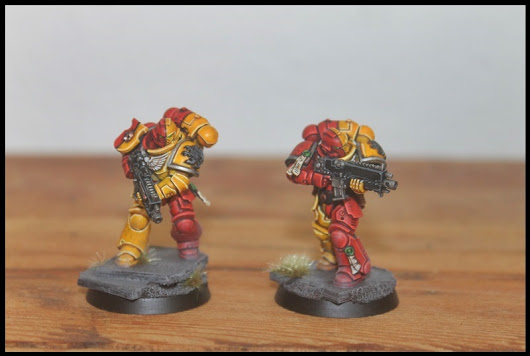 Intercessor Squad Nr.1 fertig