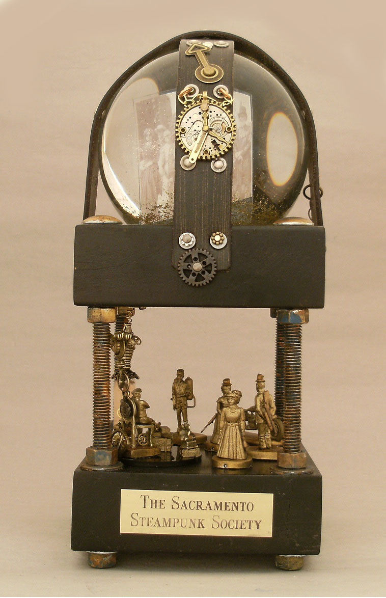 Steampunk Snow Globes By Camryn Forrest One Of A Kind