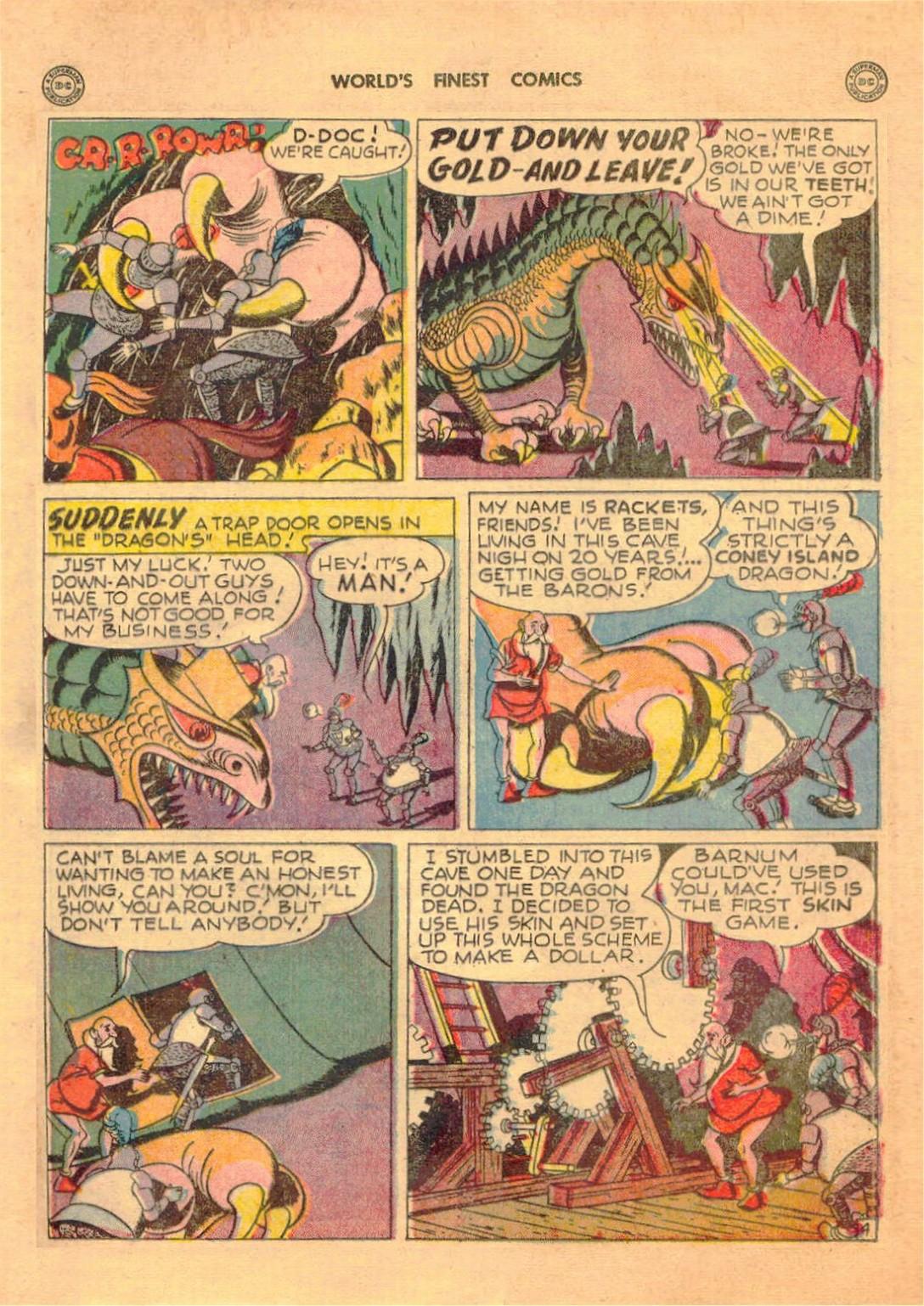 Read online World's Finest Comics comic -  Issue #42 - 31