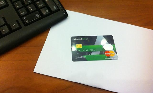 شرح الحصول على بطاقة Advcash البلاستكية بسعر 0.01 دولار