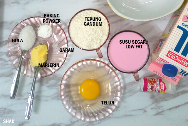 bahan pancake sedap
