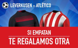 sportium promocion Leverkusen vs Atlético champions 21 febrero