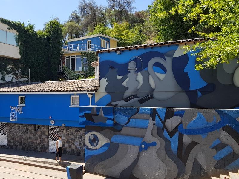 La Chascona, Casa de Pablo Neruda em Santiago