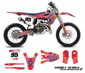 High Quality Vinyl Graphics Kits that will Turn your Dirt-Bike into a Thing of Beauty