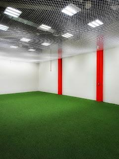 Espaço de Aquecimento no Vestiário do Estádio Beira-Rio