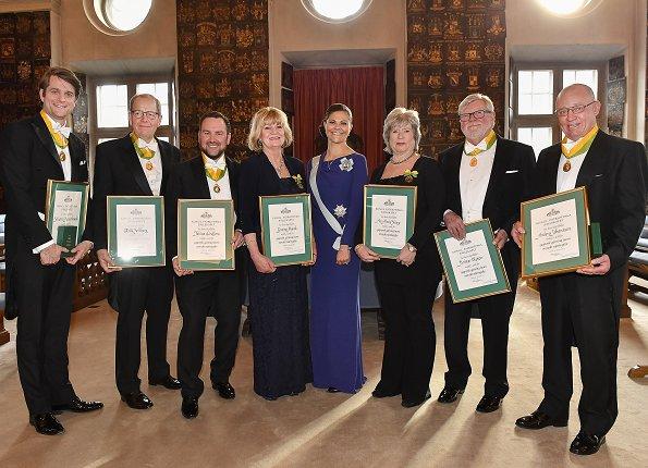 Royal Patriotic Society, Sebastian Siemiatkowski, Erik Sellberg, Tobias Lindfors, Gunvor Munck, Ann-Marie Skarp, Krister Olsson and Anders Johansson