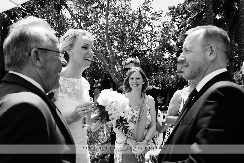 Congratulations after wedding ceremony