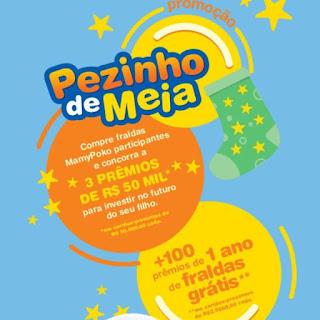 Promoção Pezinho de Meia MamyPoko