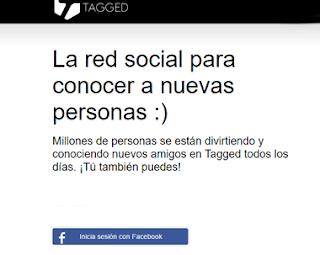 Iniciar Sesion en Tagged con Facebook [2016]