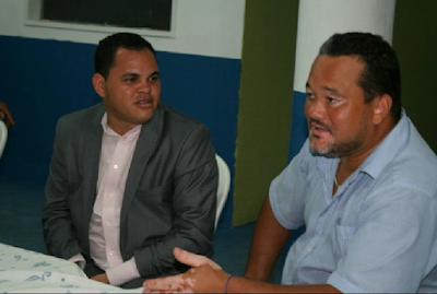 Líder político de Canavieiras Edmar Luz se reúne com motoristas do transporte alternativo