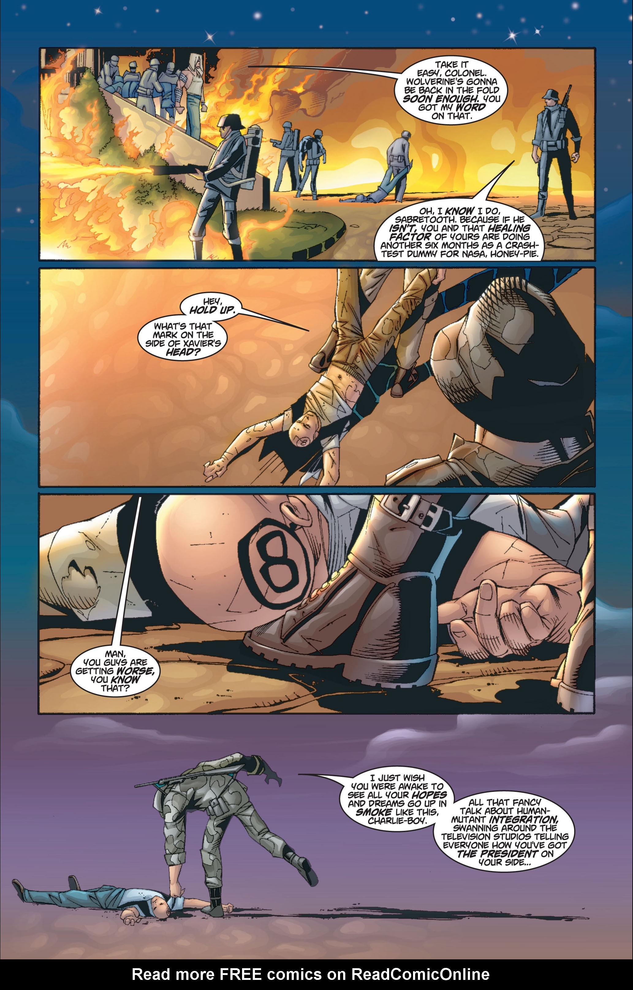 Read online Ultimate X-Men comic -  Issue #8 - 22