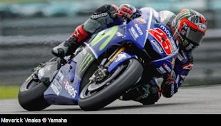 Vinales dan Rosi Puji Kecepatan Motor Yamaha