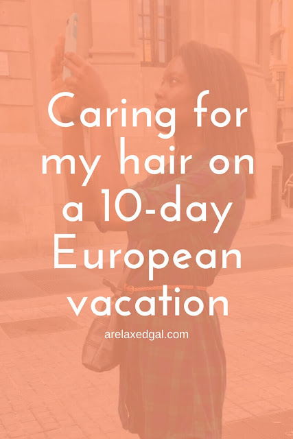 Summer hair care tip: How to care for your hair when traveling overseas. | arelaxedgal.com