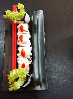 Menu Sushi Ushi di Mie Dahsyat Peudes