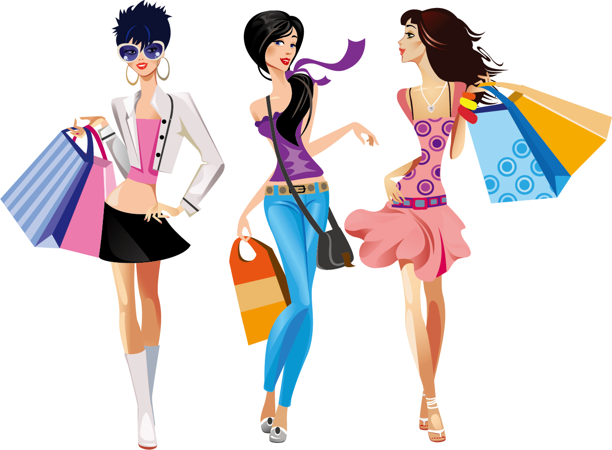 free clipart clothes shopping - photo #37