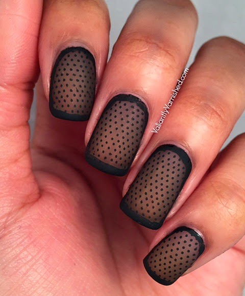 Transparent Nail Art
