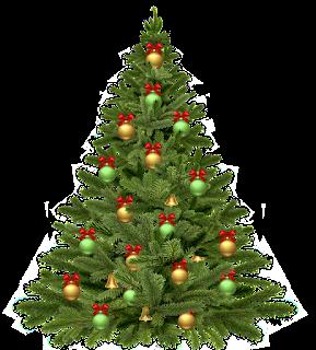 5 gambar pohon NATAL yang cantik
